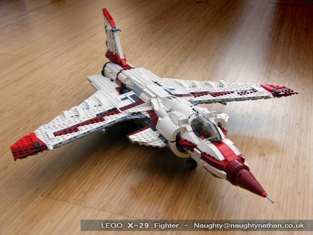 LEGO X-29 Space Fighter